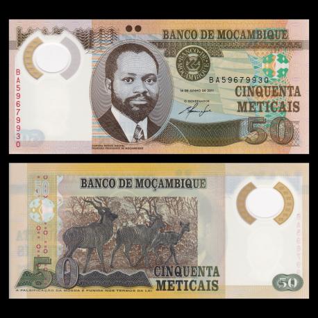 Mozambique, P-150, 50 meticais, 2011