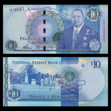 Tonga, p-46, 10 pa'anga, 2015