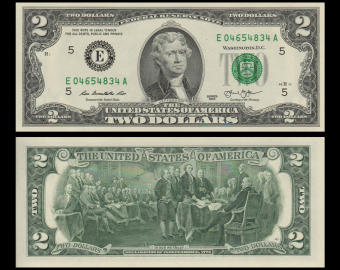 USA, P-538E, 2 dollars, Richmond, 2013
