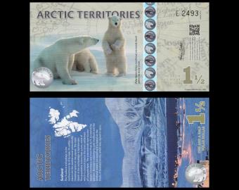 Arctic, 1,5 polar dollar, 2014