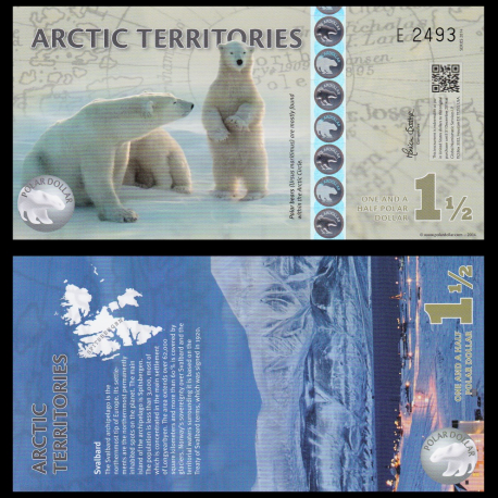 Arctique, 1,5 polar dollar, 2014