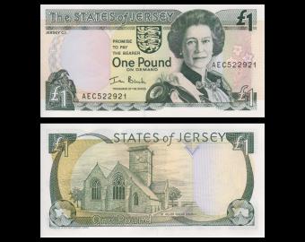 Jersey, p-26b, 1 pound, 2000