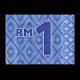Malaisie, P-51a, 1 ringgit, Polymère, 2011