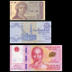 Lot 3 banknotes : Croatia Egypt Vietnam