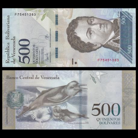 Venezuela, p-94b, 500 bolivares, 2017