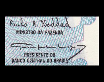 Brésil, P-232c, 5.000 cruzeiros, 1993