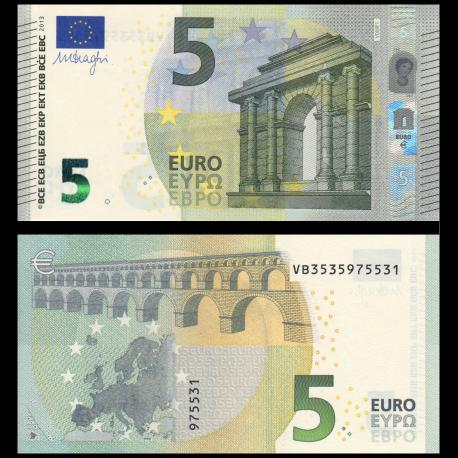 Euro, P-20V, 5 euros, 2013