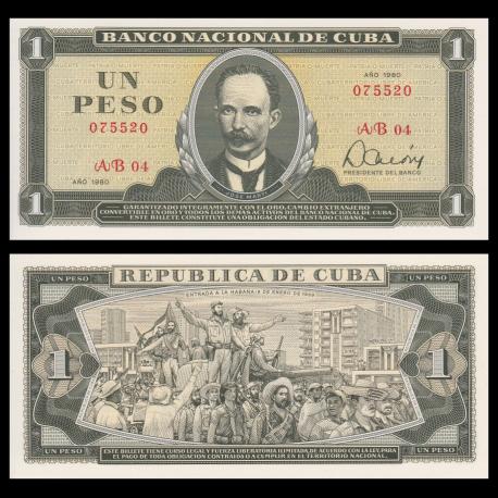 C, p-102b, 1 peso, 1980
