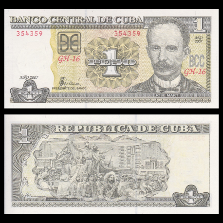 C, p-128b, 1 peso, 2007