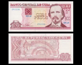 C, P-129f, 100 pesos, 2014