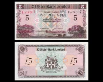 Irlande du Nord, p-340b, 5 pounds, 2013