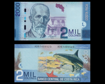 Costa Rica, P-275b, 2000 colones, 2013