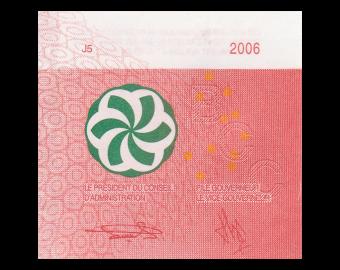Comoros, p15b, 500 francs, 2006