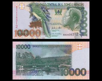SÃO TOMÉ E PRÍNCIPE, p-66d, 10.000 dobras, 2013