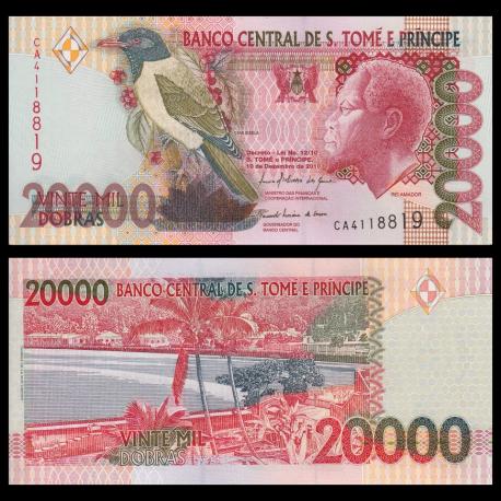 SÃO TOMÉ E PRÍNCIPE, p-67d, 20.000 dobras, 2010