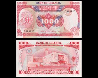 Uganda, P-26, 1000 shilingi, 1986