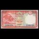 Série 3 billets Nepal : 5+10+20 roupies 2016-17