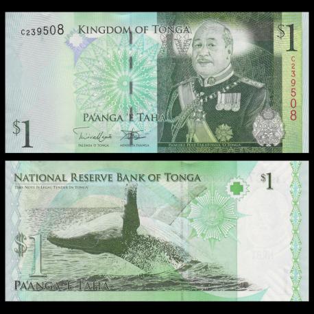 Tonga, p-37b, 1 pa'anga, 2009