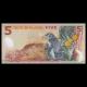 Nouvelle Zélande, p-185d, 5 dollars, 2014