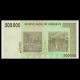 Zimbabwe, P-76b, 500 000 dollars, 2008