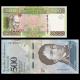 Lot 2 billets de 500 : Guinée Venezuela