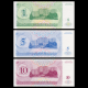 Trans-Dniester, 3 banknotes set, 1994
