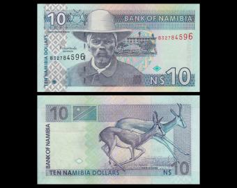 Namibia, P-04c, 10 dollars, 2005
