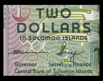 Salomon (iles), P-25b, 2 dollars, 2011