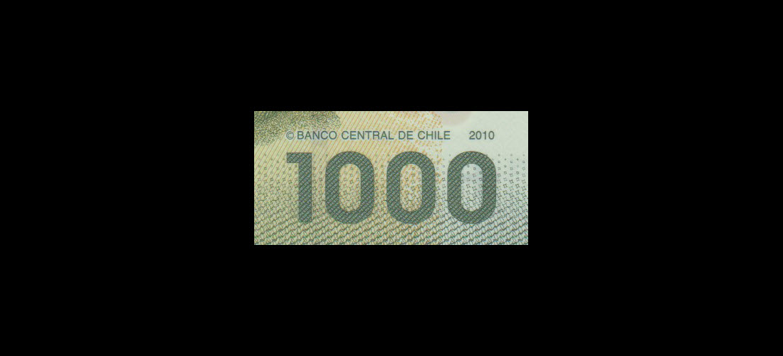 Banknote World Paper Money For Collector Chile P 161a 1000 Pesos