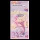 Bermudes, P-58, 5 dollars, 2009