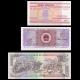 Lot 3 banknotes of 5 : Belarus China Honduras