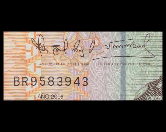 Dominican Rep, P-182, 20 pesos oro, 2009, polymer