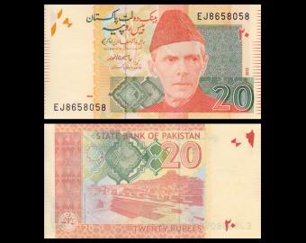 Pakistan, P-55f, 20 rupees, 2013