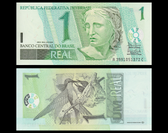 Brazil, P-251a, 1 real, 2003