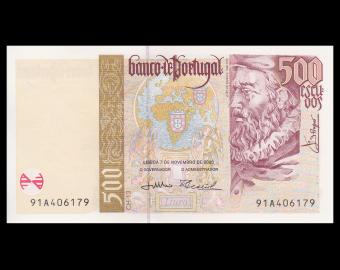 Portugal, P-187c, 500 escudos, 2000