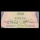 Indonésie, P-103, 2.5 rupiah, 1968