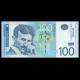 Serbie, P-57b, 100 dinara, 2013