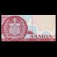 Samoa, P-33b, 5 tala, 2005