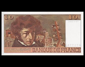 France, P-150c, 10 francs Berlioz, 1976, Presque Neuf / A-UNC