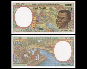 République Centraficaine, P-302Ff, 1000 francs, 1999