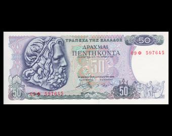 Greece ,P-199, 50 drachmai, 1978