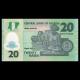 Nigeria, P-34b, 20 naira, 2007, Polymer