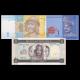 Lot 3 billets de 1 : Ukraine-Malaisie-Erythrée