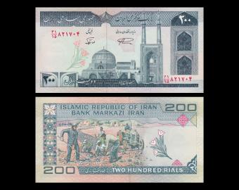I, p-136d, 200 rials, 2003