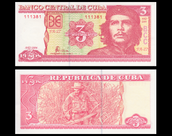 C, P-127a, 3 pesos, 2004