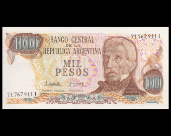 Argentina, P-304d2, 1000 pesos, 1983