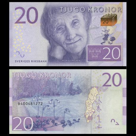 Sweden, P-69, 20 kronor, 2015