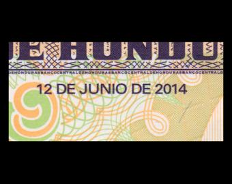 Honduras, P-097b, 2 lempiras, 2014