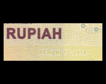 Indonésie, P-156c, 5000 rupiah, 2018