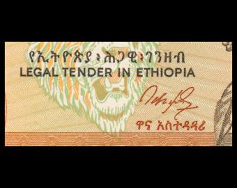 Ethiopie, P-42a, 5 birr, 1991